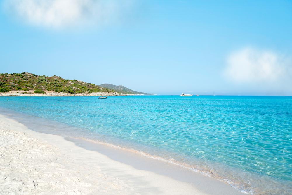 Beach of Saleccia, Corsica