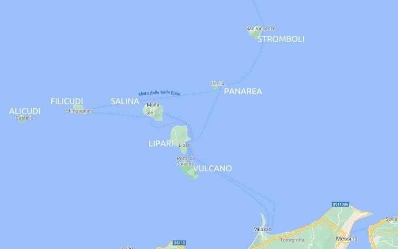 Aeolian 7-day itinerary